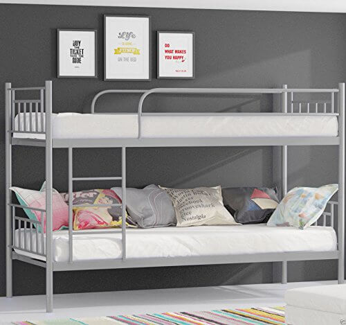 alles ber homeline stockbett silber. Black Bedroom Furniture Sets. Home Design Ideas