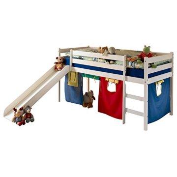 Idimex Kinderbett LARS, weiß, 90×200 cm - 1